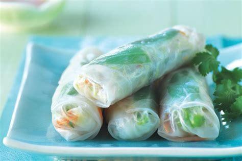 Rice Paper Rolls In Advance - tuna avocado rice paper rolls recipe taste au