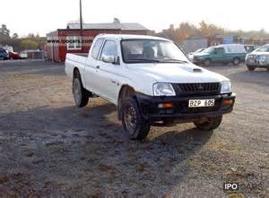 Mitsubishi L200 Up Truck 1999 Mitsubishi L200 Gl 4x4 Up Car Photo And Specs