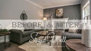 Staging Before And After by Before And After Home Staging Staged For Upsell Youtube