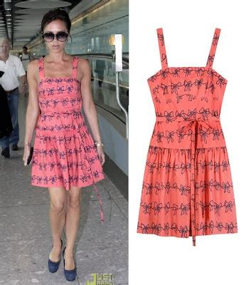 Get A Matching Marc By Marc Dress And Umbrella by Where D They Get That Beckham In Marc By Marc