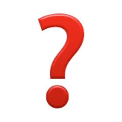 apple question mark black question mark ornament emoji u 2753 u e020 u e020