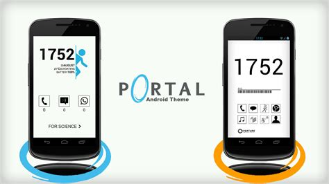 portal android portal android theme by 55runner on deviantart