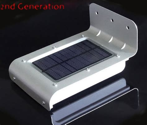 solar power lighting outdoor outdoor security solar powered motion sensor 16 led light hotsteals4u