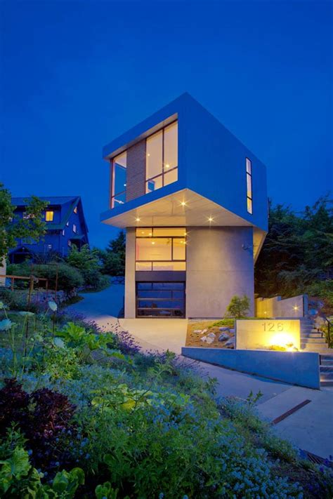 modern urban home design modern geometric architecture urban seattle home