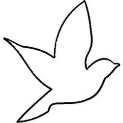 Simple Outline Of A by 25 Best Ideas About Bird Outline On Bird Template Bird Stencil And Bird Decorations
