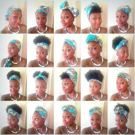 20 ways to wear a scarf i my relaxed hair