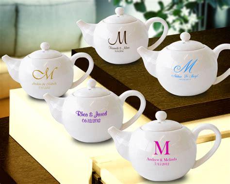 Custom Mini Teapots by Monogram Personalized Mini Tea Pots