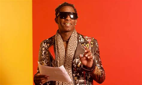 young thug gq young thug reads quot best friend quot lyrics for gq