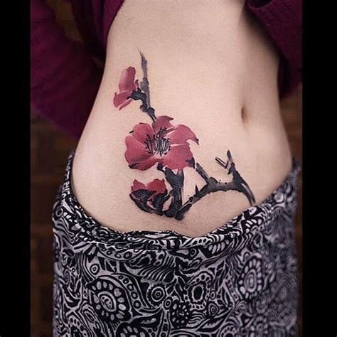 stomach flower tattoo designs 38 best and stomach tattoos