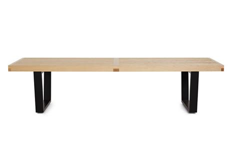 design within reach bench nelson platform bench 48 in design within reach