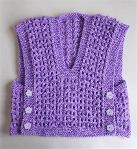 knitting pattern vest top free knitting pattern for melika lacy baby vest top