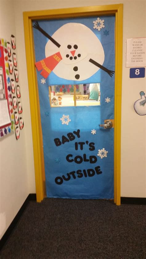 winter hallway decorations play learn abington pa quot baby it s cold outside quot winter door decorations play