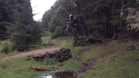 leap  faith full run mountain biking gisburn forest youtube