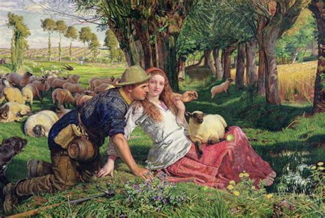 by william holman hunt the hireling shepherd hireling driverlayer search engine