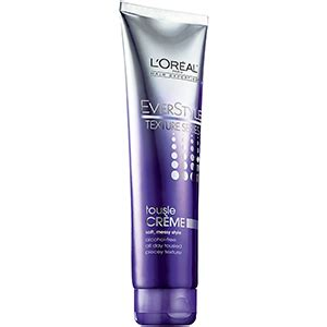 products for tousled textured hair everstyle alcohol free strong hold styling spray l oreal