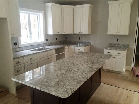 white kitchen cabinets with countertops top 25 best white granite colors for kitchen countertops