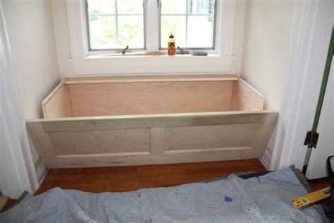 window seat hinges installing a window seat custom cabinet and bookcase