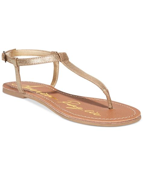 sandals at macy s american rag krista t flat sandals only at macy s
