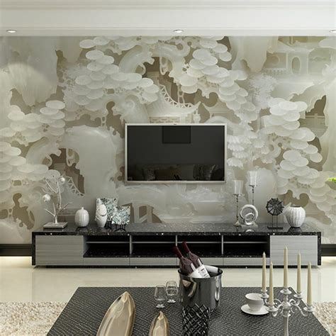 living room wall murals aliexpress com buy custom size wall murals papel de