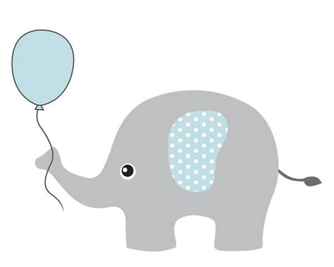 baby shower elephant clip 27 images of blue elephant baby shower clip