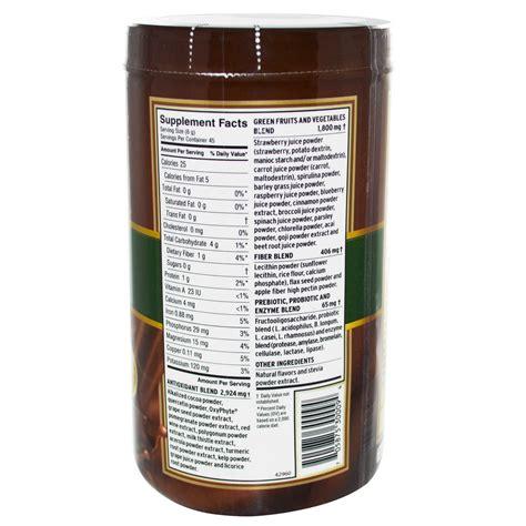 supplement powder barlean s greens supplement powder formula chocolate