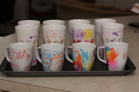 how to decorate a mug at home daily frugal tip diy sharpie ceramic mug couponing 101