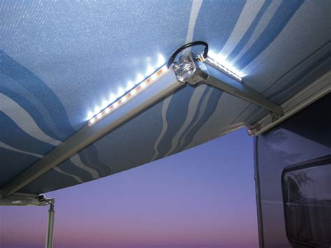 motorhome awning lights fiamma awning arms led lights