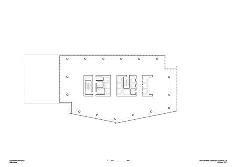 office tower floor plan mitikah office tower richard meier partners architects
