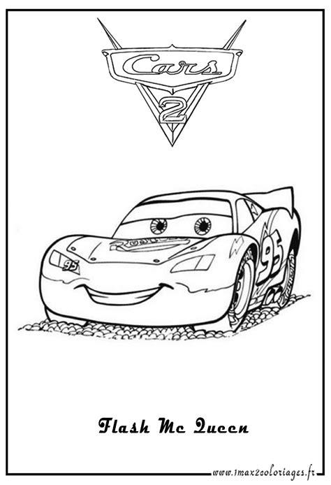Disney Coloriages Flash Mcqueen Page 2 Coloriage Cars L