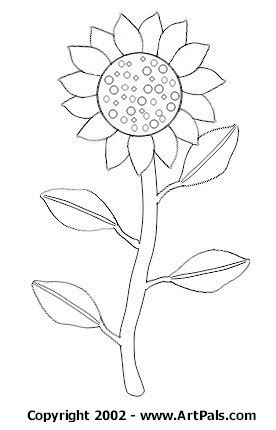 coloring page of vase with sunflowers vase with sunflowers colouring pages