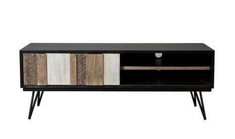 bureau avec biblioth鑷ue meuble metal bois affordable meuble tv bois mtal