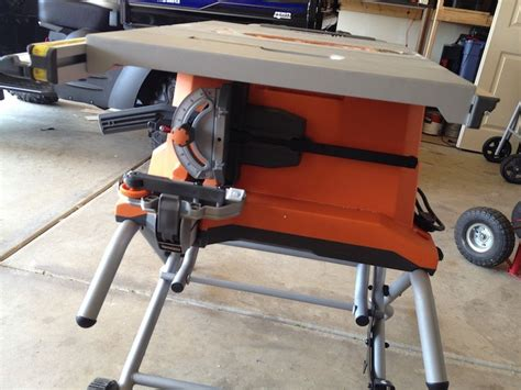 Ridgid Portable Table Saw by Ridgid 10 15 Heavy Duty Portable Table Saw With