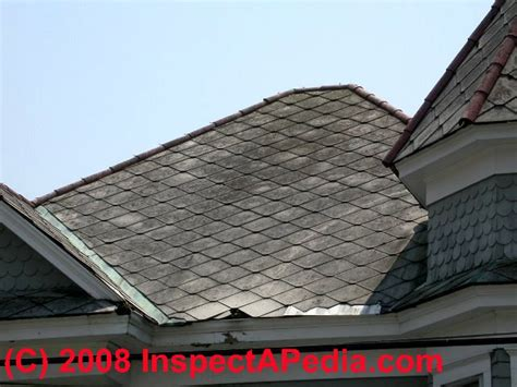 Asbestos Roof Tile Testing - asbestos identification photo guide to building materials