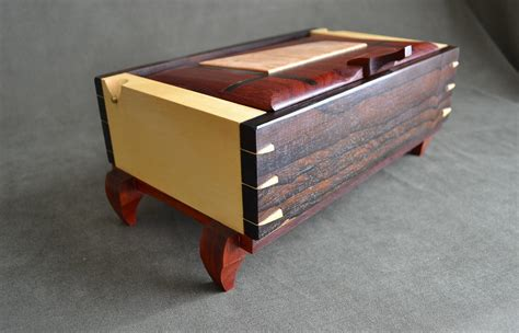 Handmade Box - handmade wood jewelry box