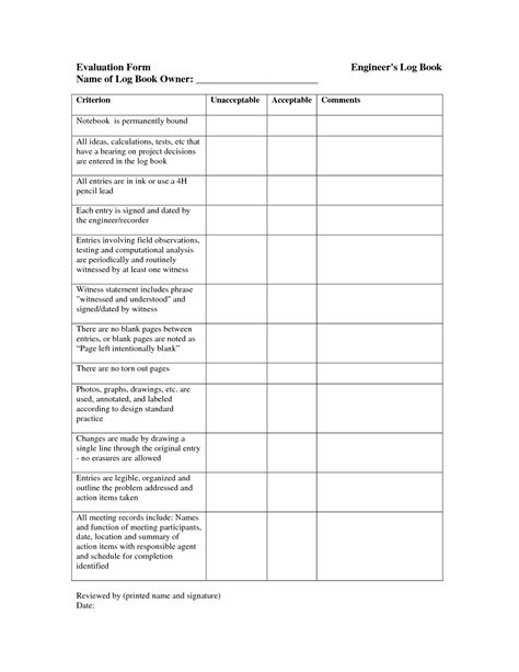 science project template best photos of construction log book templates