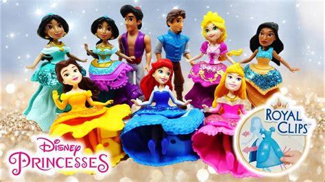 disney princess royal clips doll  magic clips doll