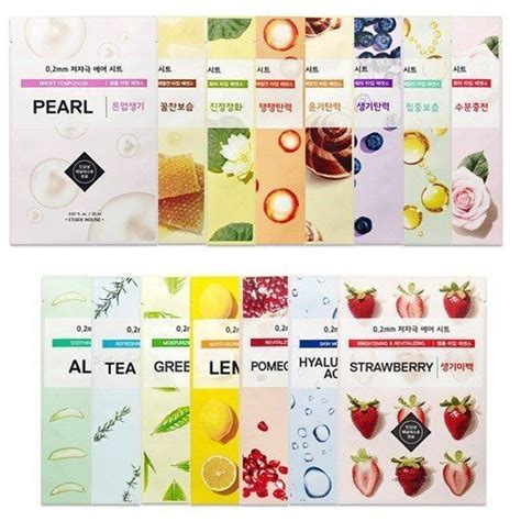 Etude House 11 Variant Therapy Air Mask Sheet etude house 0 2 therapy air mask seoul next by you malaysia