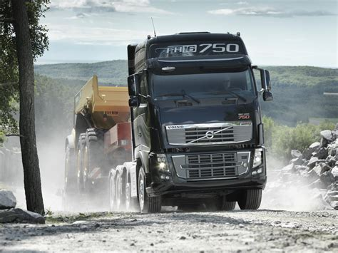 Volvo Trucks Unveils Fh16 With 750 Hp Autoevolution