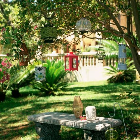 traditional garden design ideas traditional garden with hanging lanterns traditional