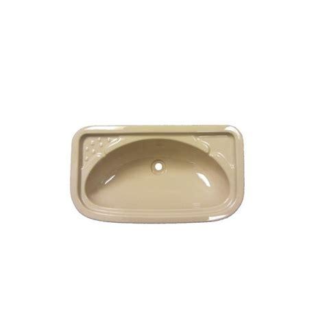 Caravan Bathroom Sinks by Bathroom Sink Rectangular Beige Caravan Stuff 4 U