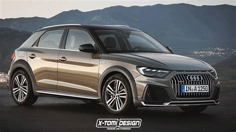 2019 Audi Allroad by 2019 Audi A1 Allroad Render Motor1 Photos