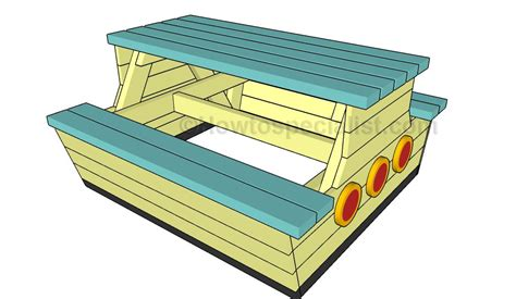 kids picnic bench plans kids picnic table plans howtospecialist how to build step by step diy plans