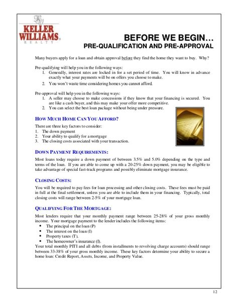 how do i prequalify for a home loan home review
