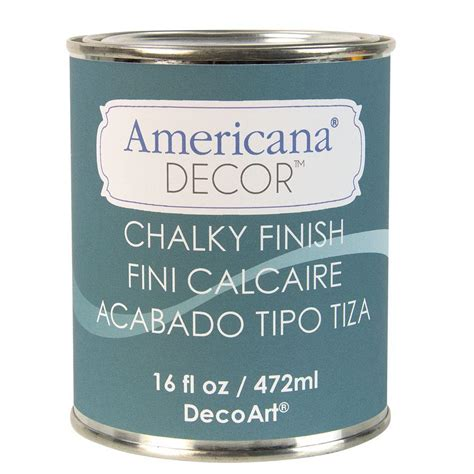 chalk paint wax home depot decoart americana decor 16 oz treasure chalky finish