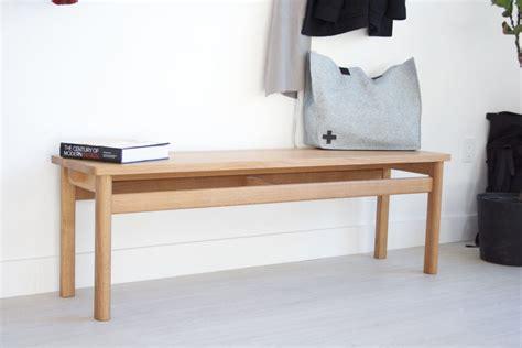 oak hallway bench dustin kroft of kroft on making handcrafted furniture and