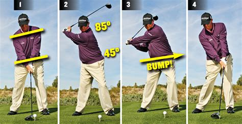 connection in golf swing long game get connected golf tips magazine