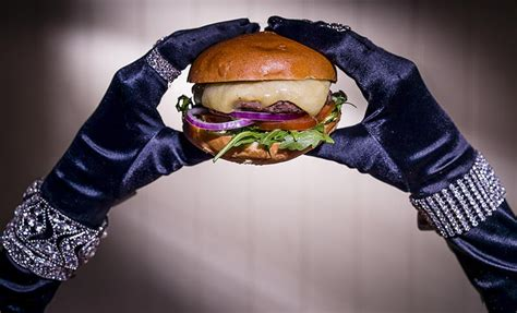 Burgers Popping Up All Fashion Week by Meets Chic At Hach 233 S Fashion Themed Burger Pop Up In