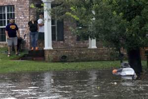 How To Stop Backyard From Flooding by Tropical Streets Flooded And Thousands Without