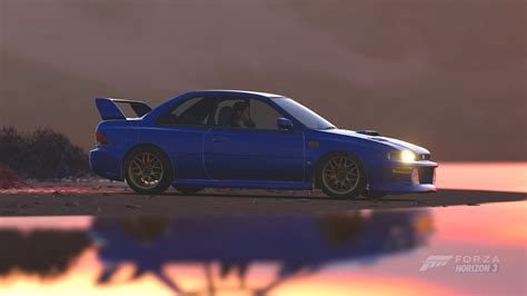 subaru 22b wallpaper forza horizon 3 cars