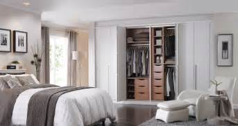 modern bedroom design ideas with white closet door